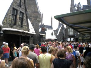 Harry Potter World  soon after it opened--I had definite crowd anxiety, but Harry Potter! Need I say more?